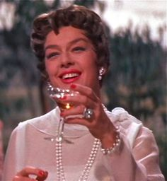 """""""Live Live Live"""" Rosalind Russell as Auntie Mame"""