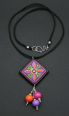 Colourful Dangle Pendant | Flickr - Photo Sharing!