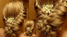 Aqui os dejo el enlace para que aprendais a hacer este peinado. https://www.youtube.com/watch?v=jpvbh6qW5fE