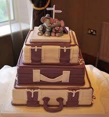 suitcase cake duper cake, suitcas cake, cake stuff, bake, thought, wedding cakes, themed weddings, theme cake, themed cakes