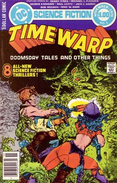 Time Warp #1 (DC 1979) Cover Art by Mike Kaluta