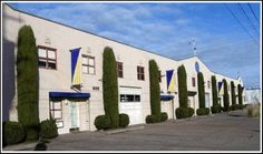 Beautiful landscaping at the Viagra headquarters.