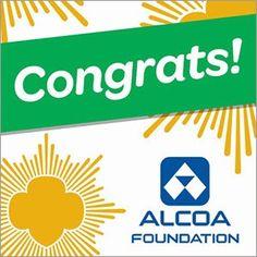 Alcoa Chuck McLane Scholarship $10,000 for 2 women (Girl Scouts) studying #STEM #Women #Scholarships