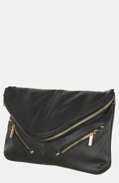 Topshop Zip Envelope Convertible Clutch available at #Nordstrom