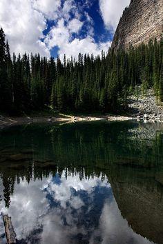 Reflection - Lake Louise, Alberta, Canada