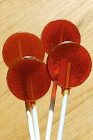 Homemade Cough Drops and Cough Drop Lollipops