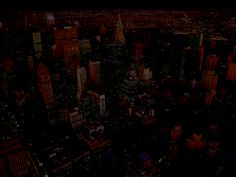new york city lights up. click it