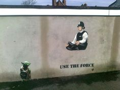 JPS Street Art - Force