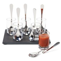 Soiree Appetizer Set from Z Gallerie #zgallerie $19.95