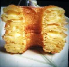 Cronuts and Danish recipe.  Step by step photos.~~Oh my! Look at those flaky layers.
