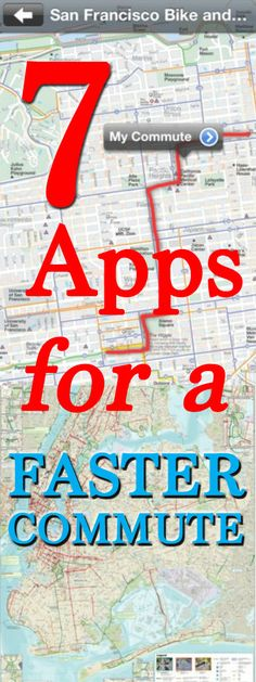 No one likes a long commute--and there's an app for that.