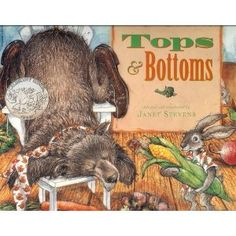 Book, Tops and Bottoms by Janet Stevens