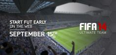 FIFA 14 Ultimate Team Web App Early Access