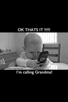 Benefits of being a grandmother.