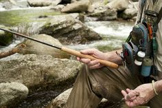 Photo Credit: Michael JN Bowles. A light and portable tenkara rod