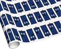 Doctor Who Tardis Wrapping Paper