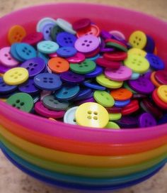 Bowlful of Buttons