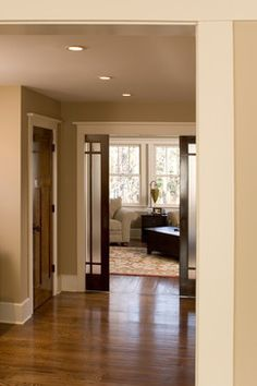 Wood Door White Trim Design Ideas, Pictures, Remodel, and Decor - page 4