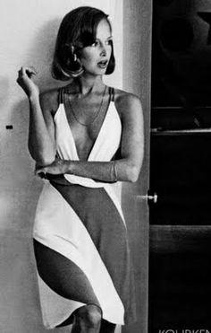 Supermodel Karen Graham