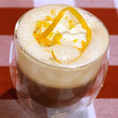 Orange Blossom Morning Hot Coffee Coffee Drink Recipe #SeattlesBestRecipe