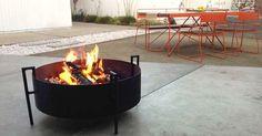 Backyard Fire Rings