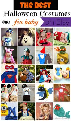 The Best Halloween Costumes for Baby (on Etsy!) | The Shopping Mama