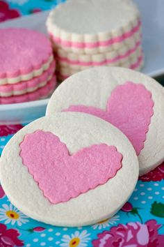 Valentine Cookies - site has translate button