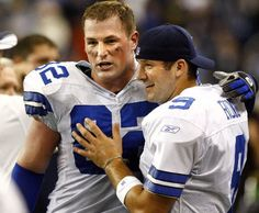 Jason Witten and Tony Romo.