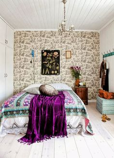 boho mix - wallpaper + textiles