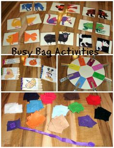 Busy Bag Activities