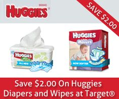 Coupon for $2 Off Huggies Products at Target  http://ginaskokopelli.com/coupon-for-2-off-huggies-products-at-target/