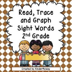 Read, Trace and Graph Sight Words - Second Grade Students will love using highlighters to trace and graph their sight words. They also use a die and highlighter to practice writing sight words on separate worksheet. Great to use for independent literacy centers.