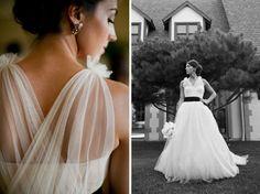 {Wedding Dress} Vera Wang, Style Name Emmeline, Tulle Sleeves