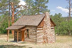 19th Century Log Cabin: Original Tiny Houses?