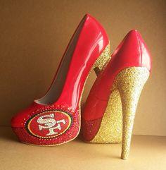 49ers Heels!