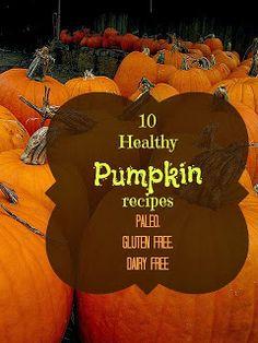 Southern Scraps : 10 Healthy pumpkin recipes