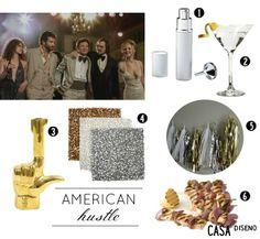 2014 Golden Globes Inspiration: American Hustle #decor