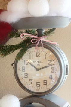 vintage christmas, vintag christma, sugar pie, pie farmhous, merri christma, kitchen, farmhous christma