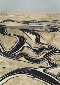 """Bahrain I  Andreas Gursky (German, born 1955)    2005. Chromogenic color print, 9' 10 7/8"""" x 7' 2 1/2"""" (301.9 x 219.7)"""