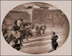 Qing Court Return, The Emperess Dowager [1902] George E. Morrison [RESTORED] by ralphrepo, via Flickr