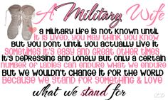 Military Wife <3