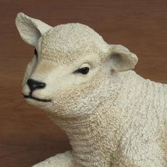 Resting Lamb - Fiberglass (22W) 54 scale $129.00 Gentle animals...sheep, lambs...greeted Mary and Joseph. This wonderful large Resting Sheep is constructed of fiberglasss and hand painted. http://www.christmasnightinc.com/c260/Resting-Lamb-Fiberglass-22W-54-scale-p136.html#