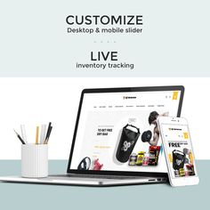 Our latest development Shopify store which customise desktop & mobile slider, location tracking, live inventory tracking and etc.