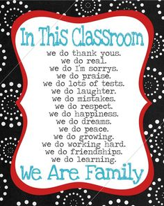 classroom creed // teacher's rules // diy by tentinytoesdesigns, $8.00