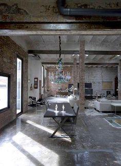 Rustic loft on pinterest for Beckerman kitchen cabinets