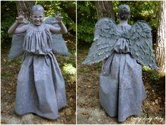 COSTUME: DIY Weeping Angel  Crafty Lady Abby