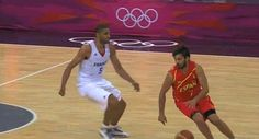 Nic Batum decided he hated Juan Carlos Navarro's balls.