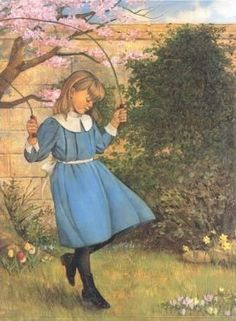Mary skipping rope
