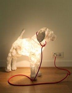 Glow dog.