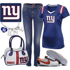Outfit- NY Giants (krystle-kryptonite)